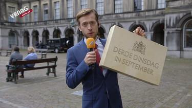 De vraag vandaag: Wat zit er in het koffertje op Prinsjesdag?
