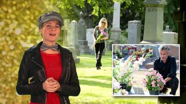 Waarom geef je bloemen op een begrafenis?: Als blijk van medeleven