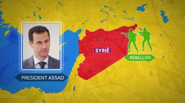 De burgeroorlog in Syrië