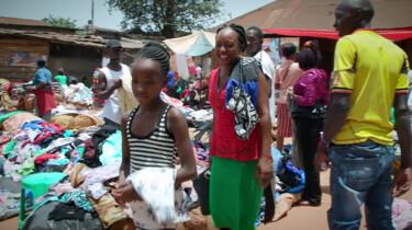 Tweedehands kleding voor Oeganda