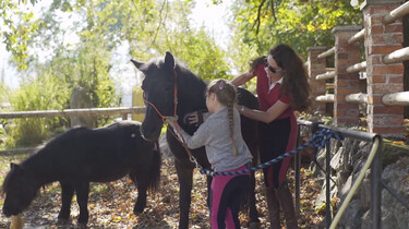 Tinkara en haar paard