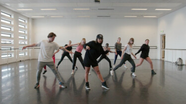 Het Klokhuis: Danseres