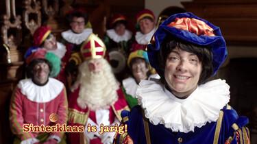Sinterklaas is jarig: De pieten zingen een Sinterklaasliedje