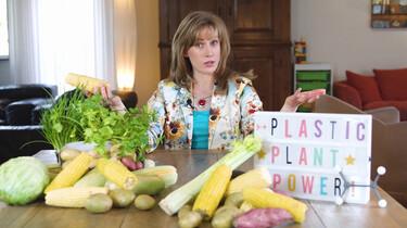 Hoe maak je plastic van planten?