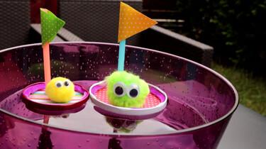 Hoe maak je drijvende wuppies?