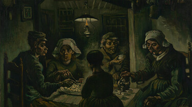 Dit ben ik: Vincent van Gogh: De aardappeleters van Vincent uit Brabant
