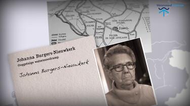 Ooggetuigen van de watersnoodramp: Het verhaal van Johanna Burgers-Nieuwkerk