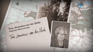Ooggetuigen van de watersnoodramp: Het verhaal van Tona van der Heide