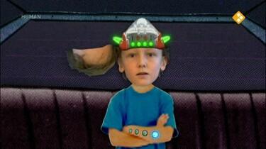 Dus Ik Ben Jr.: Dus ik ben een mens/robot