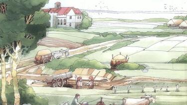 Het ontstaan en de inrichting van Nederland : Boeren voor heer en klooster