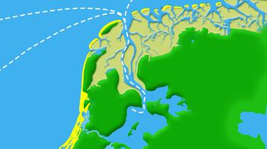 Het ontstaan en de inrichting van Nederland