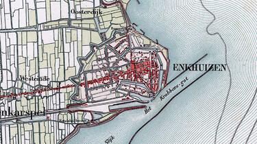 Het ontstaan en de inrichting van Nederland : Crisis rond de Zuiderzee in de 18e eeuw
