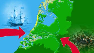 Het ontstaan en de inrichting van Nederland : Krimpende steden na de Gouden Eeuw
