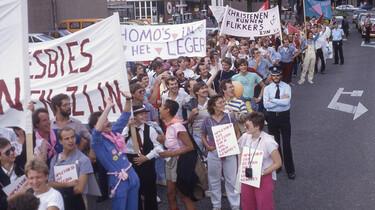 Andere Tijden in de klas : Homo-emancipatie in de jaren 80