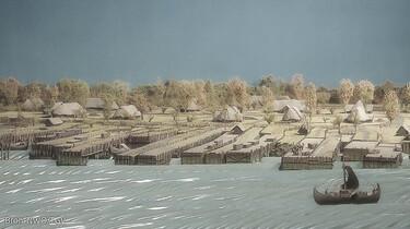 Het ontstaan en de inrichting van Nederland : Handelsnederzettingen in de vroege middeleeuwen