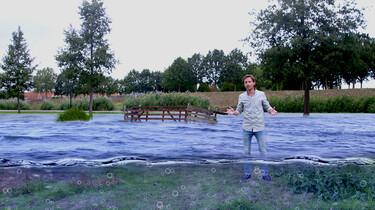 Het ontstaan en de inrichting van Nederland : Droogmakerijen en polders in de Gouden Eeuw