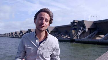Het ontstaan en de inrichting van Nederland : De Zuiderzeewerken en de Deltawerken