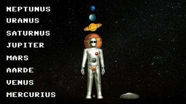 Snapje?: De planeten van het zonnestelsel