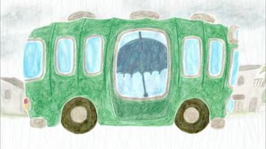 Wie zit er in de bus?