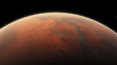 Kun je voedsel verbouwen op Mars?: Pinda's eten op de rode planeet