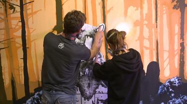 Hoe wordt street art gemaakt?