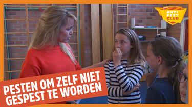 Anti Pest Club: Dordrecht - 'Pesten, om zelf niet gepest te worden'