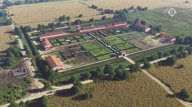 EenVandaag in de klas : De grootste Romeinse villa van Nederland