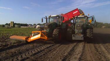 Hoe gebruikt een boer moderne technieken?: Slim aardappels rooien