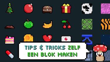Hoe maak je een blok in je game?: Ontwerp je eigen game-elementen