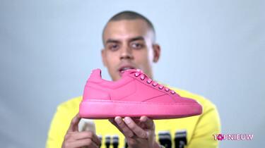 Hoe maak je schoenen van kauwgom?: Lopen op zolen van uitgespuugde kauwgompjes