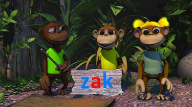 Letterjungle: De letter a: zak