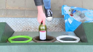 Hoe wordt glas gerecycled?