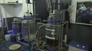 Hoe ziet een drugslab eruit?