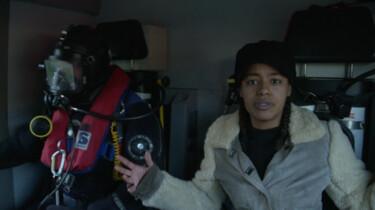 Het Klokhuis: Brandweerduiker