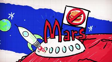 De ruimte-experts: Hoe verbouw je voedsel op Mars?