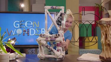 Hoe maak je een stoel van kranten?: De kracht van de driehoek