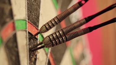 Hoe werkt de puntentelling bij darten?: Singles, doubles en triples