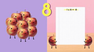 Fruit op Tafel: De tafel van acht