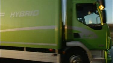 Het Klokhuis: Hybride vrachtwagen