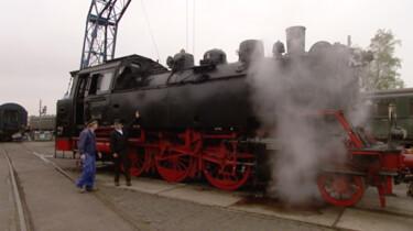 De eerste spoorlijn
