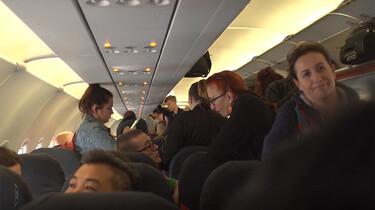 EenVandaag in de klas : Vliegen of reizen per trein