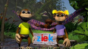 Letterjungle: De letter ie: ziek