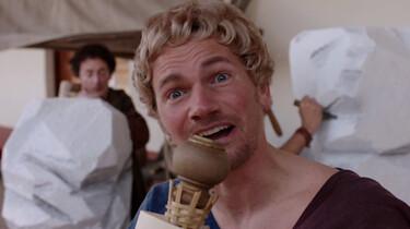 Romeinse beeldhouwkunst: Nageaapt van de Grieken