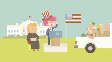 Clipphanger: Hoe word je president van Amerika?