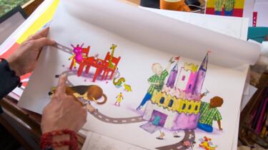 Hoe wordt een prentenboek gemaakt?: Van storyboard naar kleuren met ecoline met schrijfster Mylo Freeman