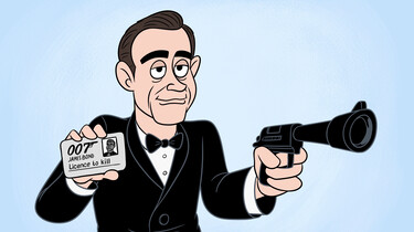 Clipphanger: Wie is James Bond?