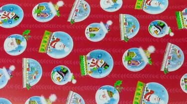 Hoe wordt kerstpapier gemaakt?