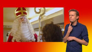 Het Sinterklaasjournaal met gebarentolk: Het Sinterklaasjournaal op bezoek