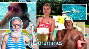 Waarom krijg je prikkende ogen in het zwembad?: Niet van het chloor, maar van chloor gemengd met viezigheid