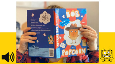 Bob Popcorn: Het lievelingsboek van Levi